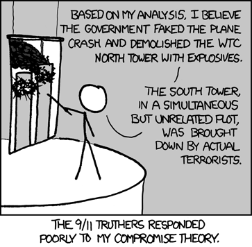 XKCD 9/11 Truthers