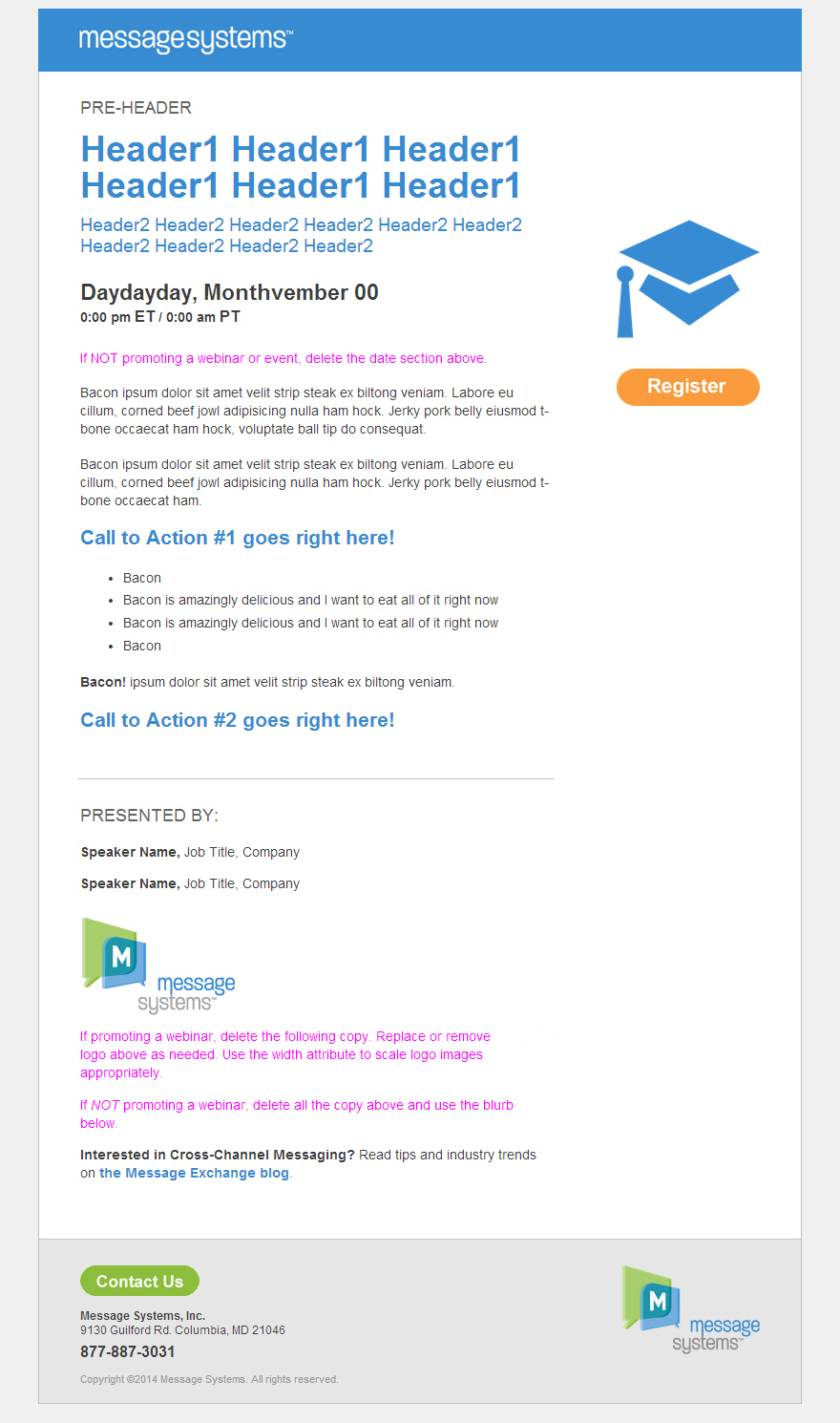 Responsive Email Template in a Browser