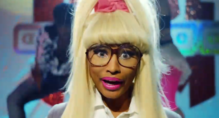Nicki Minaj from Lonely Island Creep video