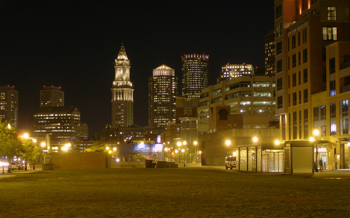 Boston Commons at Night