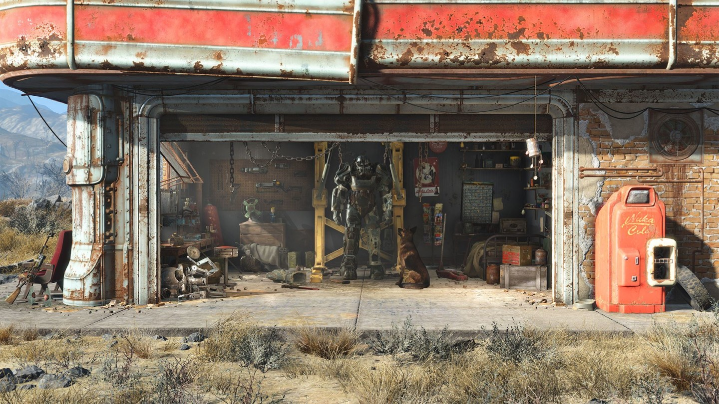 Fallout 4 Gas Station