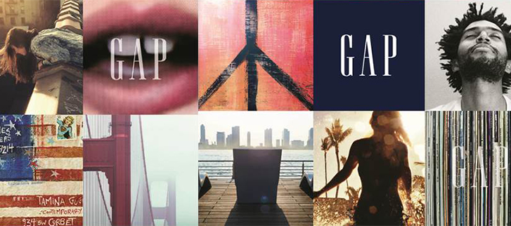 The Gap Graphics