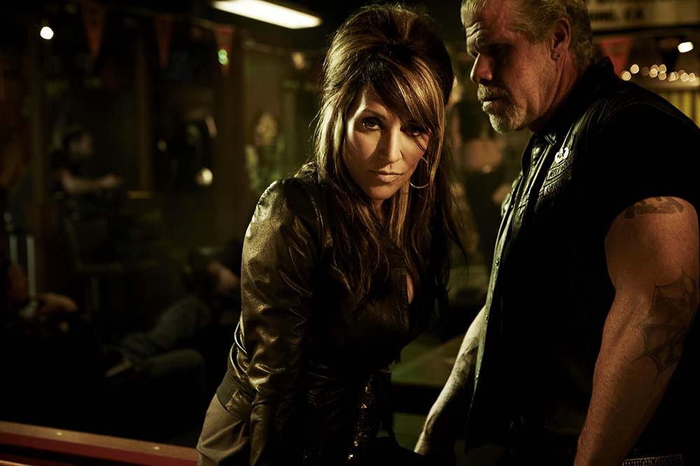 Sons of Anarchy: Gemma and Clay