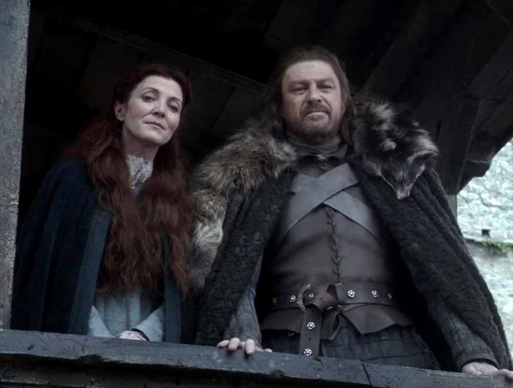 Game of Thrones: Catelyn and Eddard Stark