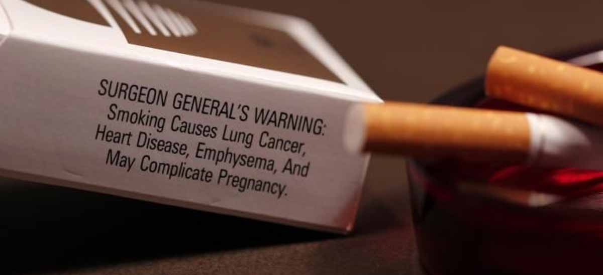Surgeon General's Warning on Cigarettes