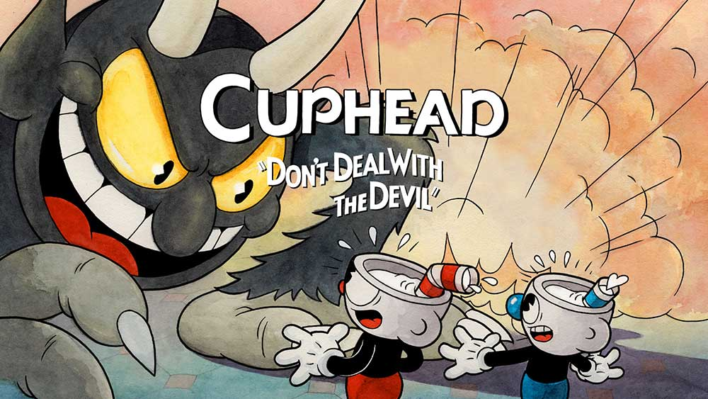 "Cuphead ""Don't Deal With The Devil"" art"