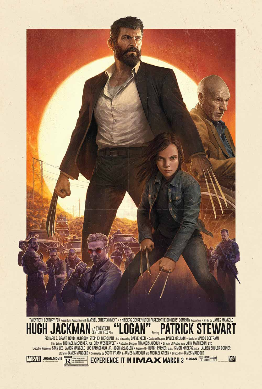 Best Movies of 2017: IMAX Poster for Logan (2017)